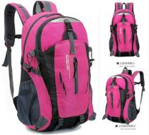 Backpack oxford Other / other brand new in zipper travel Double root motion soft youth no Soft handle Solid color Yes male Water splashing prevention