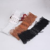 Belt / belt / chain other Black, white, camel female Waistband Sweet Single loop other soft surface alloy