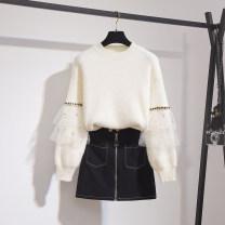 Fashion suit Winter 2020 S,M,L,XL Suit [sweater + skirt], single sweater, single skirt