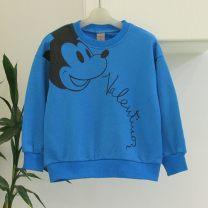 Sweater / sweater papaya juice Green, blue neutral 110(7#),120(9#),130(11#),140(13#),150(15#),160(17#) spring and autumn nothing cotton Cartoon animation QA55699