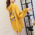 Nursing clothes Black, yellow, green, black, yellow, green M,L,XL,2XL Spicy mother's breast-feeding fashion Socket Spring autumn winter Long sleeves Medium length leisure time Sweater letter Side opening cotton GRJ9905#