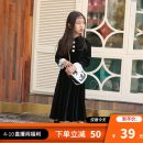 Dress black female Love shangguo 110 (recommended height of 105-115), 120 (recommended height of 115-125), 130 (recommended height of 125-135), 140 (recommended height of 135-145), 150 (recommended height of 145-155), 160 (recommended height of 155-160), 165 (recommended height of 160-165) other