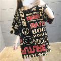 Women's large Summer 2020 Short sleeve Medium length Tai Anli tassels