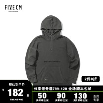 Sweater Youth fashion 5cm Charcoal/CCX Khaki/KHX Purple /PPX S M L XL Solid color Socket routine Hood easy leisure time youth tide routine 5CXSWB3130F8B Cotton 100% Autumn of 2018 Same model in shopping mall (sold online and offline) Japanese and Korean style