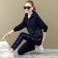 Casual suit Spring 2021 M L XL XXL XXXL Longbenton cotton Cotton 100.00%