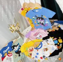 T-shirt 3372 pink, 3372 blue, 3372 yellow, 3371 pink, 3369 yellow, 3368 red, 3367 black, 3366 pink, 3366 blue, 3365 blue, 3296 red, 3296 blue, 3296 pink, 3293 yellow, 3293 gray, 3293 pink, 3282 blue, 3282 red, 3282 yellow, 3346 blue, 3346 red Other / other 90cm,100cm,110cm,120cm,130cm neutral summer