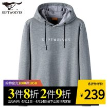 Sweater Fashion City Septwolves Navy-101 black-001 medium grey-003 160/80A/S 165/84A/M 170/88A/L 175/92A/XL 180/96A/XXL 185/100A/XXXL 190/104A/XXXXL 195/108A/XXXXXL other Socket routine Hood spring Straight cylinder leisure time youth Business Casual routine 1D1860603658 Cotton polyester cotton