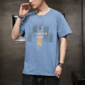 T-shirt Youth fashion routine M L XL 2XL 3XL Chaonan Valley Short sleeve V-neck standard daily summer CNG-XHW Cotton 100% youth routine tide Autumn of 2019 Embroidery Geometric pattern No iron treatment Pure e-commerce (online only)