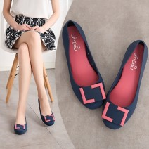 Sandals 36 37 38 39 40 Grey black purple blue 606 seven square buckle blue 606 seven square buckle black 606 seven square buckle grey size is too small, please take a bigger size plastic cement Gobindu Baotou Flat bottom Flat heel (1cm or less) Spring 2021 Trochanter Solid color PVC daily Low Gang PU