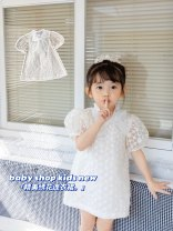 Dress goods in stock female Other / other 1, 80cm, 2, 90cm, 3, 100cm, 4, 110cm, 5, 120cm Cotton 80% other 20% cotton Princess Dress 3 months, 12 months, 6 months, 9 months, 18 months, 2 years old, 3 years old, 4 years old, 5 years old, 6 years old