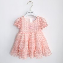Dress goods in stock female Other / other 73cm,80cm,90cm,100cm,110cm,120cm,130cm Cotton 80% other 20% other Princess Dress 12 months, 6 months, 9 months, 18 months, 2 years old, 3 years old, 4 years old, 5 years old, 6 years old, 7 years old