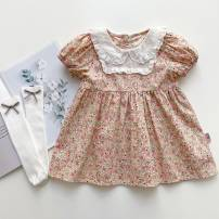 Dress goods in stock female Other / other 80cm,90cm,100cm,110cm,120cm Cotton 80% other 20% cotton A-line skirt 3 months, 12 months, 6 months, 9 months, 18 months, 2 years old, 3 years old, 4 years old, 5 years old, 6 years old