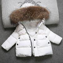 Cotton padded jacket female No detachable cap other Other / other Big collar black, big collar white, big collar red 140cm,80cm,90cm,100cm,110cm,120cm,130cm 3 months