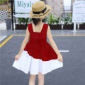Dress Navy, red female Other / other 90cm,100cm,110cm,120cm,130cm,140cm,150cm,160cm Cotton 75% polypropylene fiber 5% others 20% summer Korean version Skirt / vest Solid color blending Splicing style Class B 2, 3, 4, 5, 6, 7, 8, 9, 10, 11, 12, 13, 14 years old Chinese Mainland Jiangxi Province