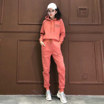 Casual suit Winter 2020 Orange (thickened) S,M,L,XL Y19X3803CP51 halo story 81% (inclusive) - 90% (inclusive)