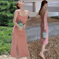 Women's large Summer 2021 Pink S M L XL singleton  commute Self cultivation Socket Sleeveless Solid color Korean version other T44 Homltiaml / hancho 18-24 years old Medium length Other 100% Pure e-commerce (online only) other