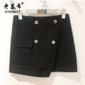 skirt Winter 2020 27/M 28/L 29/XL 30/2XL 31/3XL black Middle-skirt Natural waist 1802-1 Damushi