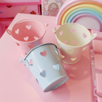 Ornaments iron other Countryside Sky Blue Girl Pink milk white Tabletop ornaments Other / other
