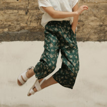 Casual pants XS,S,M,L Summer of 2019 96% and above Far home cotton