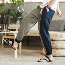Casual pants Others other M,L,XL,2XL,3XL,4XL,5XL trousers Other leisure easy summer Chinese style 2018