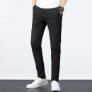 Casual pants With Ang Youth fashion Grey royal blue black 28 29 30 31 32 33 34 35 36 38 routine trousers Travel? Self cultivation Micro bomb ZY8036 autumn teenagers Business Casual 2020 middle-waisted Little feet Polyamide fiber (nylon) 91.5% polyurethane elastic fiber (spandex) 8.5% Overalls washing