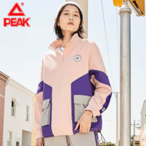 Sportswear / Pullover XS/155,S/160,M/165,L/170,XL/175,2/XL/180,3/XL/185 Peak / peak Rose purple. Heaven pink female DF604082 Cardigan Winter 2020 Brand logo Sports & Leisure Warm and breathable Sports life zipper