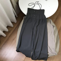 Dress Summer 2021 Greyish green S,M,L commute middle-waisted Socket One pace skirt 18-24 years old 30% and below other
