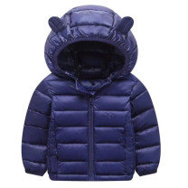 Cotton padded jacket male nothing Cotton 96% and above Baozifan Orange saffron sapphire blue black thickening Zipper shirt stand collar Polyester 100% B300570 Winter of 2018