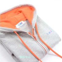Sweater / sweater Autumn of 2018 Hemp Grey Pink Green Blue Black S M L XL 2XL 3XL Long sleeves Cardigan routine singleton  Thin money Hood street
