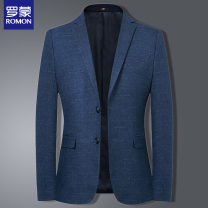 man 's suit 9836 blue 9823 blue gray 8809 gray grid 8809 gray bar 7331 blue 35 gray 8812 gray grid 8815 blue grid 8813 black grid 8814 gray grid 8811 gray bar Romon / Romon Fashion City routine 165 170 175 180 185 190 195 9XF969836 Polyester 73.5% viscose 26.5% Winter of 2019 Self cultivation youth