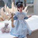 Dress Autumn 2020 Gauze skirt, dress, suit, white dress, princess dress, Maid Dress Size 100 (for 90cm-95cm), 110 (for 100cm-105cm), 120 (for 110cm-115cm), 130 (for 120cm-125cm), 140cm (for 130cm-135cm), 90 (for 80cm-85cm) Under 17 Other / other