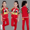 suit Other / other Donald Duck red, Donald Duck gray, Donald Duck black, style two rose red, style two pink, style two purple 110 (height 93-104cm, 120 (height 105-114cm, 130 (height 115-124cm, height 140-134cm, height 150-144cm, height 160-155cm currency spring and autumn motion routine Zipper shirt