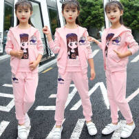 suit Other / other female spring and autumn Korean version Thin money Zipper shirt Class B 3 months