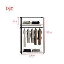 Clothing display rack clothing Metal ANJIAYOU Package 5
