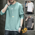 T-shirt Youth fashion routine M L XL 2XL 3XL 4XL Gebotoo / geboto Long sleeves Crew neck easy Other leisure autumn KXP5 T314 0711 25 Cotton 100% teenagers routine tide Cotton wool Spring 2021 Alphanumeric cotton Creative interest Fashion brand Pure e-commerce (online only)