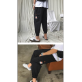 Casual pants Others Youth fashion Ninth pants Other leisure easy summer youth tide 2019 Little feet Cotton 95% other 5% Overalls