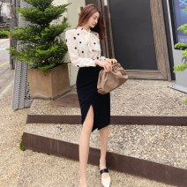 Fashion suit Autumn 2020 S M L XL Top skirt suit 25-35 years old Zhiyu 2716A Polyester 100% Pure e-commerce (online only)