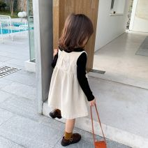 Dress Beige skirt is issued around January 18, b1s5 - thin coffee base coat, b1s5 - thin black base coat, d2n3 - black half turtleneck, c1n2 - thickened coffee base coat, beige skirt with velvet female Other / other Other 100% spring and autumn corduroy A-line skirt