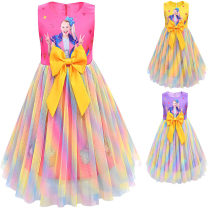 Dress 80170 yellow, 80170 rose red, 80170 purple female Other / other 140cm, 130cm, 150cm, 120cm, 110cm, 110-150 5 pieces per hand, please take 5 pieces Other 100% summer princess Cartoon animation 12, 2, 3, 4, 5, 6, 7, 8, 9, 11, 10 Chinese Mainland Guangdong Province
