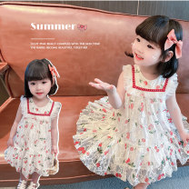 Dress Picture color female Other / other 80cm,90cm,100cm,110cm,120cm,130cm Other 100% summer princess Skirt / vest Broken flowers other Princess Dress other Chinese Mainland Zhejiang Province Wenzhou City