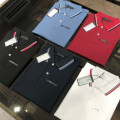 Polo shirt Other / other Fashion City routine Black, white, red, dark blue, peacock blue, short sleeve black, short sleeve white, short sleeve red, short sleeve dark blue, short sleeve light blue S,M,L,XL,2XL standard Other leisure spring Long sleeves Business Casual routine youth Solid color cotton