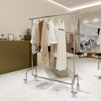 Clothing display rack clothing stainless steel Official standard