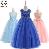 Children's dress female 110cm,120cm,130cm,140cm,150cm,160cm Other / other full dress other polyester fiber 18 months, 2 years old, 3 years old, 4 years old, 5 years old, 6 years old, 7 years old, 8 years old, 9 years old, 10 years old, 11 years old, 12 years old