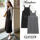 Dress Autumn 2020 Gray, black S,M,L,XL Mid length dress singleton  Long sleeves commute Loose waist Solid color zipper A-line skirt straps 18-24 years old Type A Korean version Stitching, strap, zipper