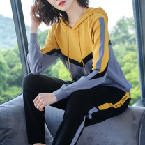 Casual suit Spring 2021 Yellow green M L XL XXL XXXL 4XL 5XL BLXY2102W B. L.xuanyan / white collar Manifesto 96% and above Other 100% Pure e-commerce (online only)
