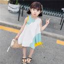 Dress Pumpkin skirt yellow, pumpkin skirt green female Other / other 90cm,100cm,110cm,120cm,130cm Cotton 100% summer Korean version Skirt / vest other cotton A-line skirt Class B 2 years old, 3 years old, 4 years old, 5 years old, 6 years old, 7 years old, 8 years old Chinese Mainland Huzhou City