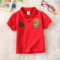 T-shirt Other / other male summer Short sleeve other Korean version No model cotton Solid color Class B hygroscopic and sweat releasing 8 years old Chinese Mainland