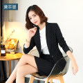Professional dress suit S M L XL 2XL 3XL 4XL Autumn of 2018 Long sleeves Shirt coat other styles Suit skirt 25-35 years old Polyester 95% polyurethane elastic fiber (spandex) 5%