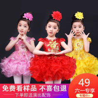 Children's performance clothes female 100cm recommendations 95-105cm 110cm recommendations 105-110cm 120cm recommendations 115-120cm 130cm recommendations 125-130cm 140cm recommendations 135-140cm 150cm recommendations 145-150cm 160cm recommendations 155-160cm Pamidine Class B BMD064 other other