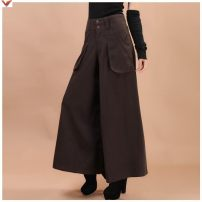 Casual pants Coffee thin, black thin, army green thin, coffee thick winter, black thick winter, army green thick winter (2-2), (2-7), (2-6), (2-3), (2-4), (2-1), 2-8,2-9,3-5 Autumn 2015 trousers Wide leg pants High waist original thickening 30-34 years old 81% (inclusive) - 90% (inclusive) FD454607